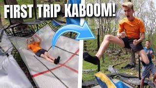 TANNER BRAUNGARDT'S FIRST TRIPLE KABOOM!
