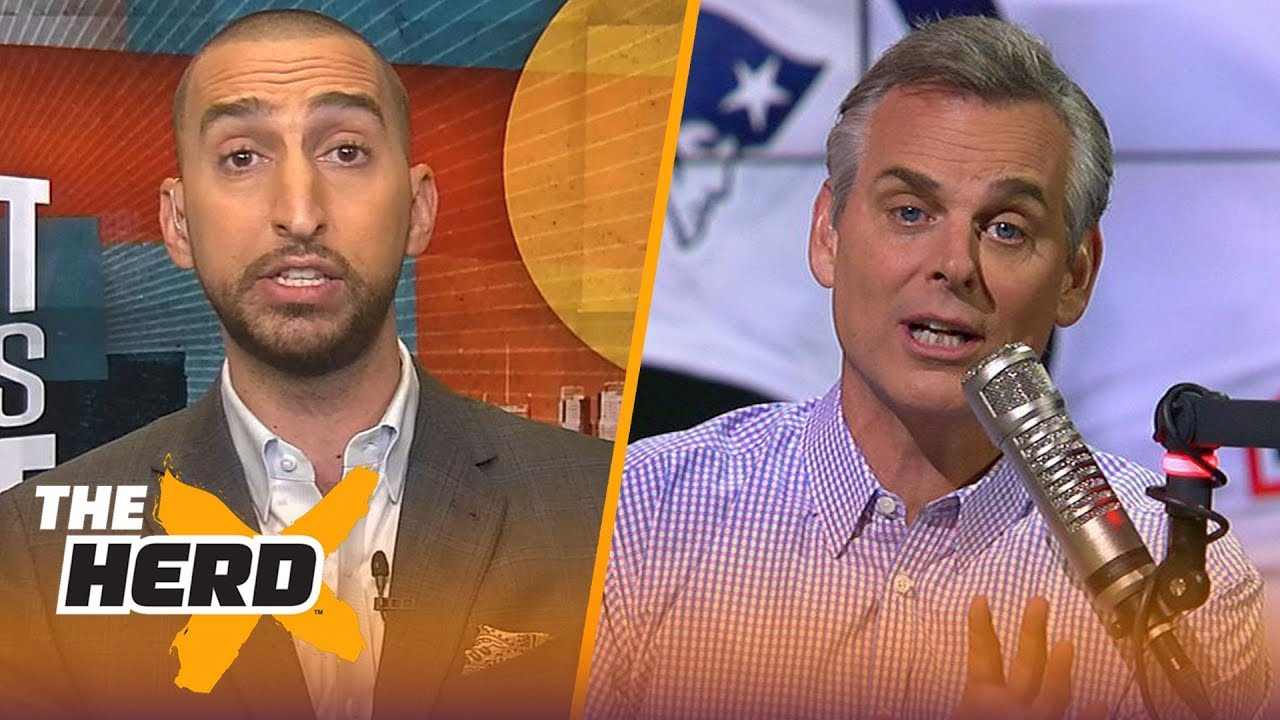 Nick Wright on Rodgers-Brady discussion, L. Bell's contract concerns with Steelers | NFL | THE HERD