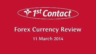 Currency Review Podcast for 11 March - 1st Contact Forex