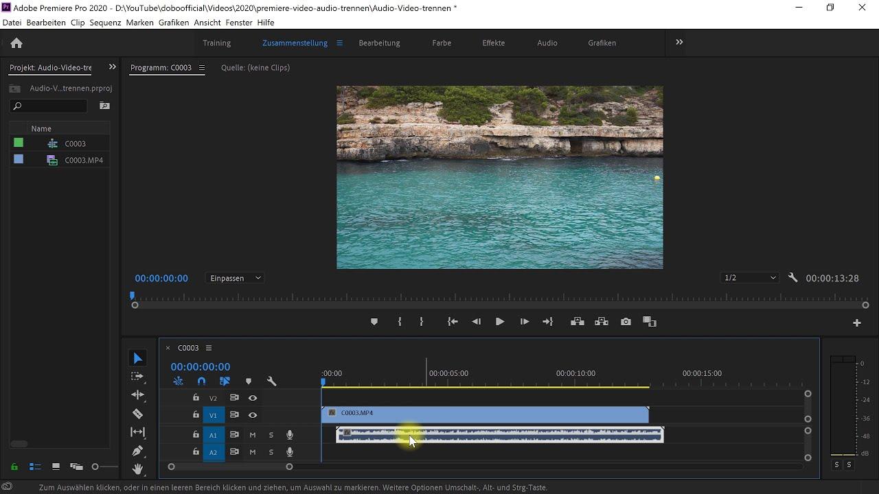 Audio Von Video Trennen