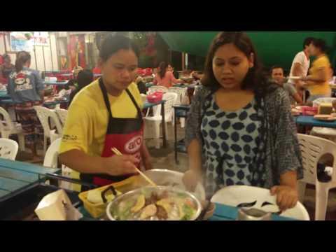 Thai BBQ Buffet Dinner at Lamai Beach, Ko Samui