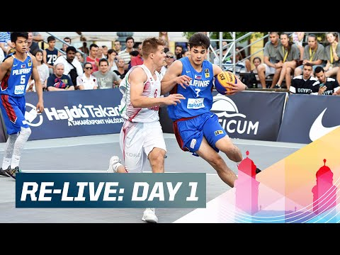 Re-Live: Day 1 - 2015 FIBA 3x3 U18 World Championships