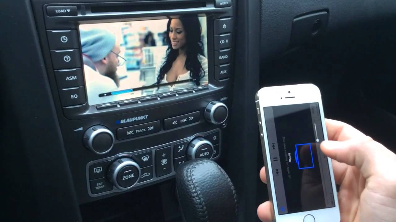 Pontiac G8 Gxp With Apple Tv Installed To Factory Radio