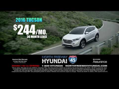 WORLD'S LARGEST HYUNDAI DEALER.COM SALES EVENT! @ North Freeway Hyundai