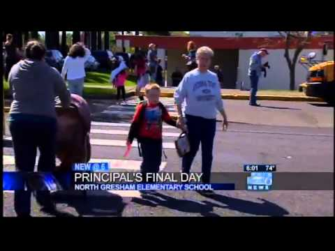 Gresham students protest loss of gay principal