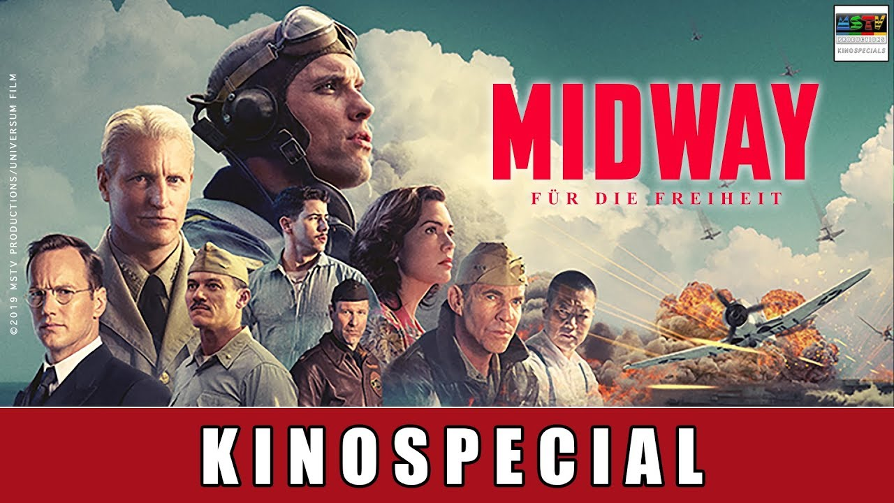 Midway: Für die Freiheit - Special: Ed Skrein (u.a. Game of Thrones) über echte Emotionen am Set!