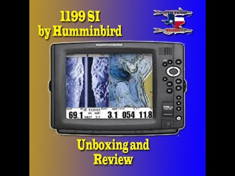 Humminbird Si Hd Gps Fish Finder Chartplotter