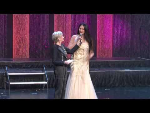 Florence Henderson Interviews Kalpana Pandit-Celebrity Judge at Mrs America 2016 Las Vegas
