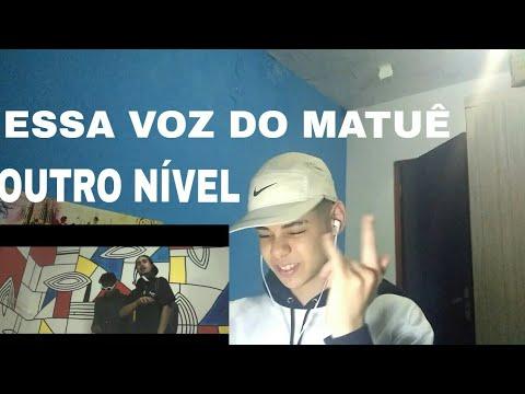 Matuê - URUBUS feat. Derek   Bloco® Sessions (Vídeoclipe Oficial) REACT