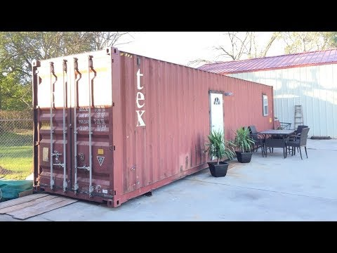 40 Ft Long Fully Furnished Custom Container House