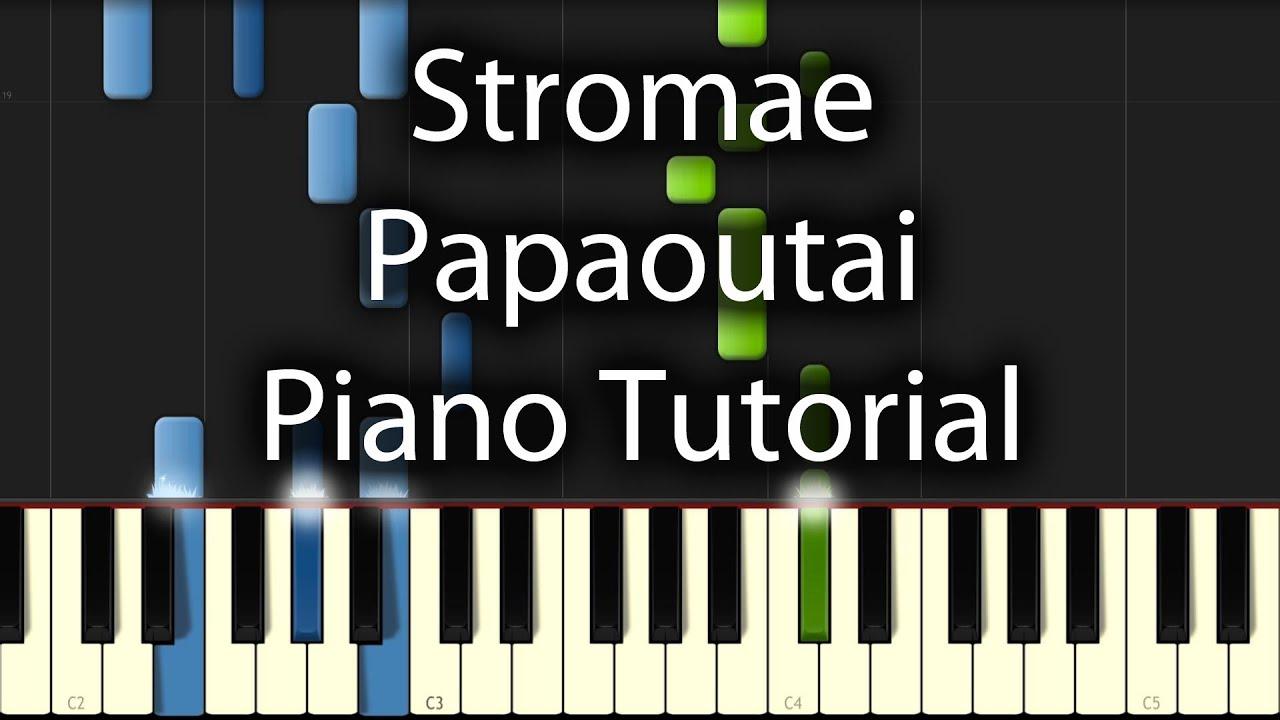 alors on danse piano tutorial