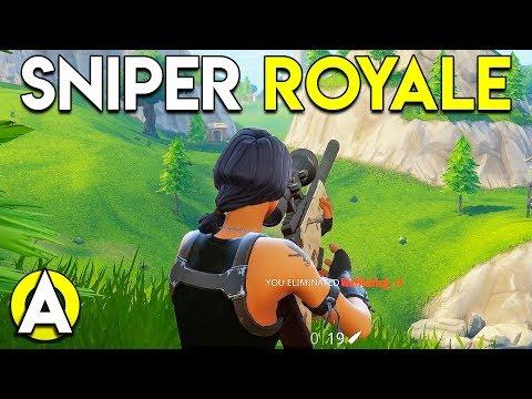 SNIPER ROYALE - Fortnite Battle Royale Gameplay