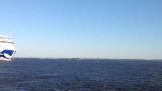 REGAL PRINCESS  круизный лайнер в Санкт-Петербурге(, 2017-07-25T00:54:00.000Z)