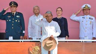 Día de la Bandera Nacional, desde Chetumal, Quintana Roo.