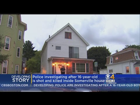 Police Search For Gunman In Shooting Death Of Somerville Teen
