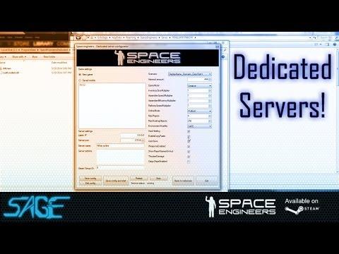 Space Engineers, Dedicated Servers (Update 01.032)