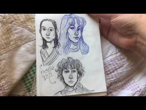 Last sketchbook of 2017 (nov-dec)