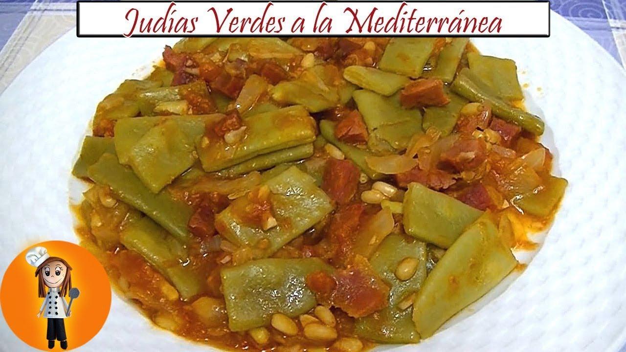 Judías Verdes A La Mediterránea Receta De Cocina En Familia Youtube