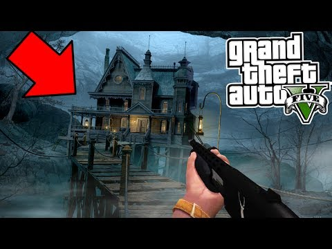 GTA 5 At 3:00 AM HAUNTED HOUSE FOUND!!! DO NOT GO IN! 😱 (GTA 5)