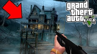 One of Papa Jake Games's most viewed videos: GTA 5 At 3:00 AM HAUNTED HOUSE FOUND!!! DO NOT GO IN!  (GTA 5)