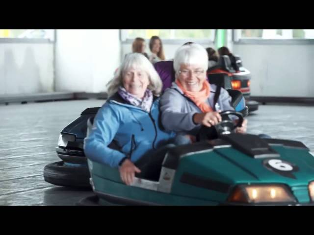 2014 Volkswagen commercial - Bumper cars without bumping