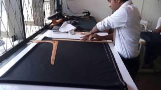 how to  cut Coat  ( back  01 )
