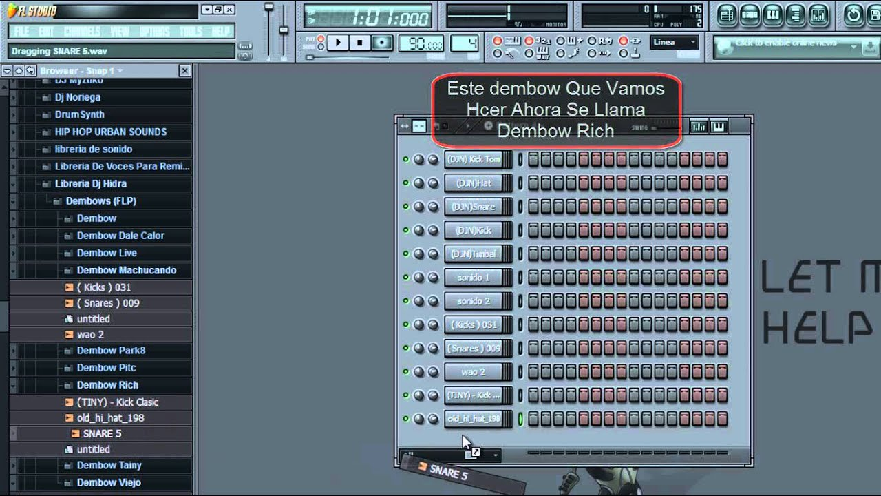 librerias dembows reggaeton para fl studio 9