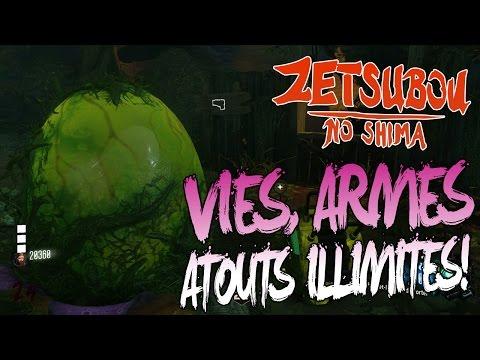 ZETSUBOU NO SHIMA EASTER EGG | AVOIR UN CLONE PLANTE | VIES ILLIMITÉES + GARDER SES ARMES/ATOUTS