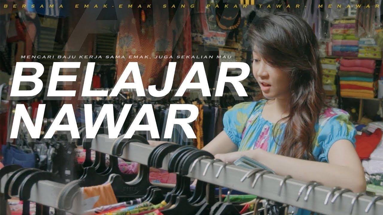 Belajar Nawar Daster Sama EMAK! - FIRST TIME