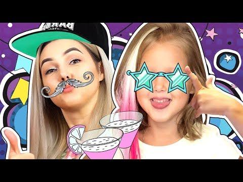 КОЛЕСО ФОРТУНЫ! Амелька помогает маме собраться на вечеринку! Как танцевать и что надеть? Kids video