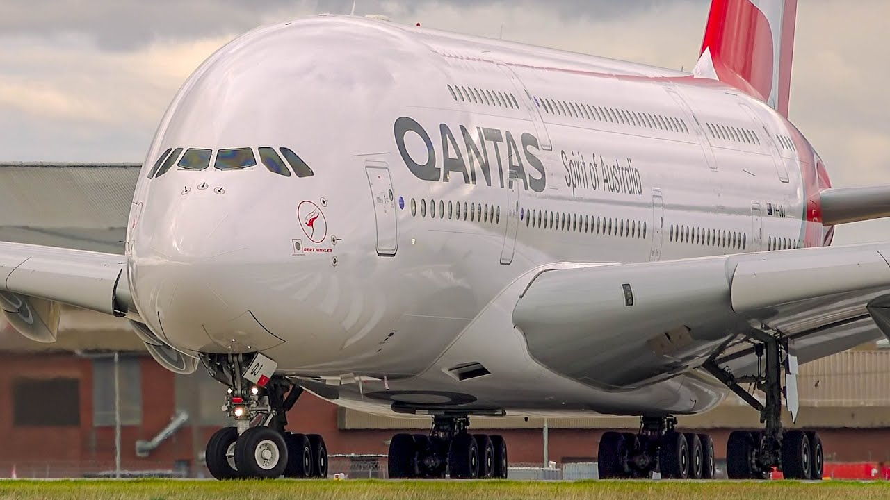10 BIG CLOSE UP Aircraft Departures | B747 A380 A330 B777 | Melbourne Airport Plane Spotting