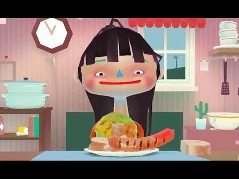 Веселая игра Готовим еду Toca Kitchen часть 7