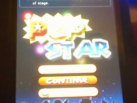 Ipod Touch or Iphone App Review of Pop Star