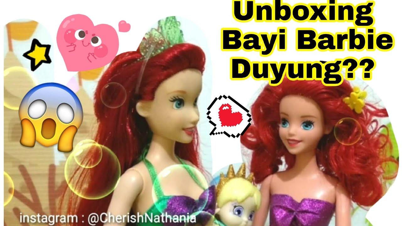 🔴 Surprise Bayi Barbie Duyung  🔴 Bukaan Ini Mainan Anak Perempuan ... ab626f3a51