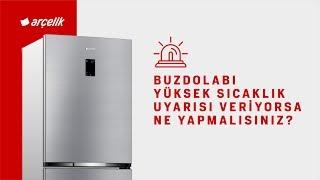 Buzdolabı Yüksek Sıcaklık Uyarısı Veriyorsa Ne Yapmalısınız?