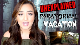 MY PARANORMAL EXPERIENCE IN A HAUNTED CABIN IN THE WOODS | STORY TIME
