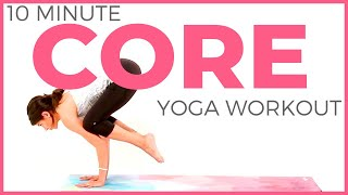 10 minute Yoga for Strength | Core Yoga Workout