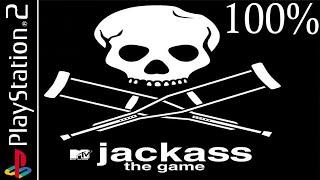 Jackass: The Game 100% - Full Game Walkthrough / Longplay