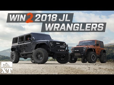 Jeep Wrangler Giveaway - Win Two 2018 JL Wranglers! 😎