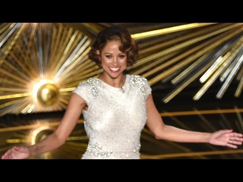 Stacey Dash Crazy Awkward 2016 Oscars Cameo