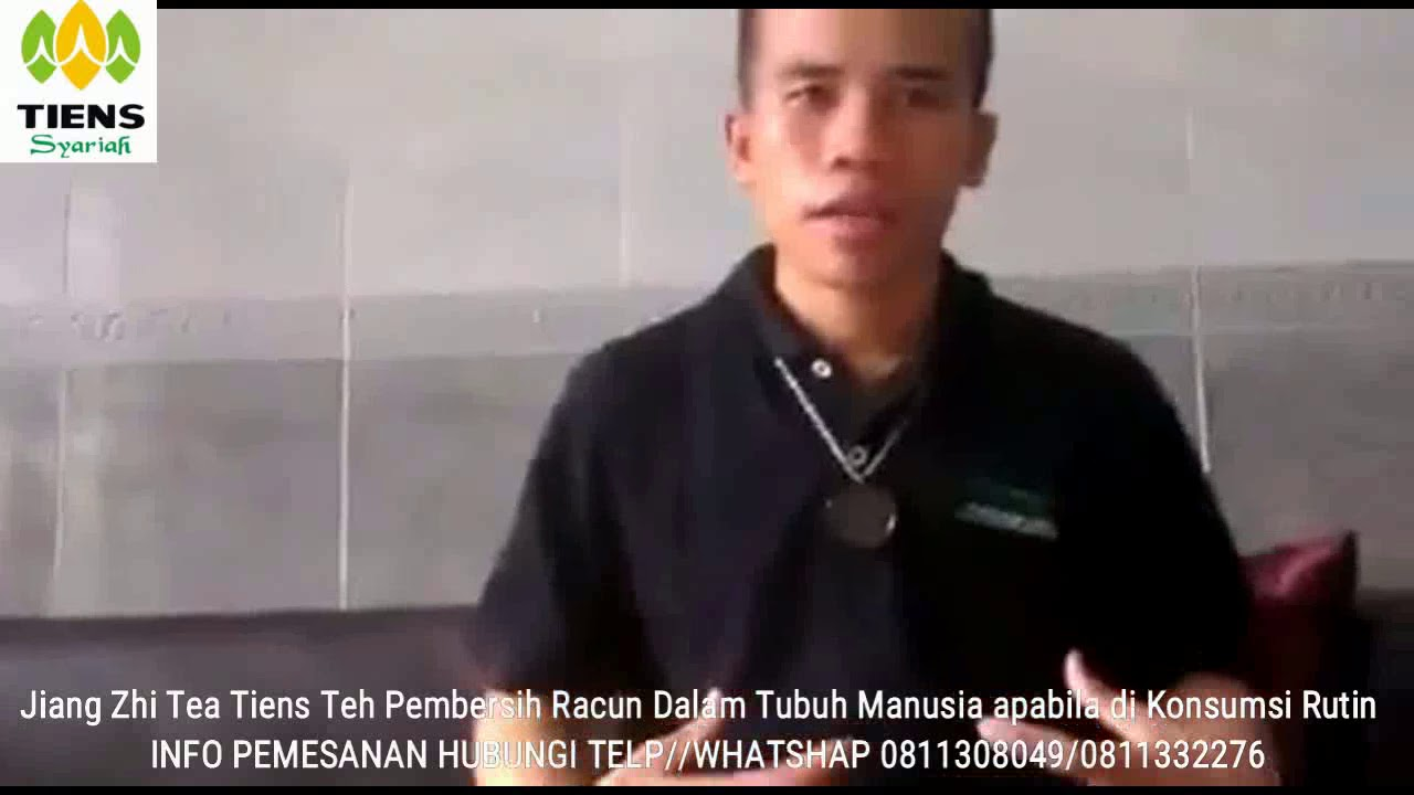 Testimoni Jiang Zhi Tea Tiens Indonesia Youtube