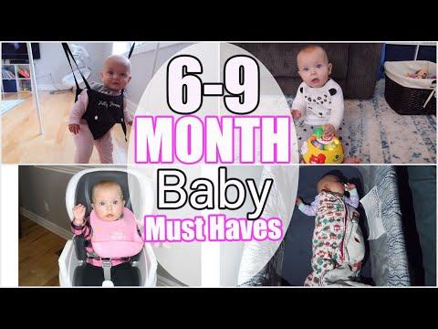 6-9 MONTHS BABY MUST HAVES | BABY ESSENTIALS 6-9 MONTHS | TOP BABY ESSENTIALS