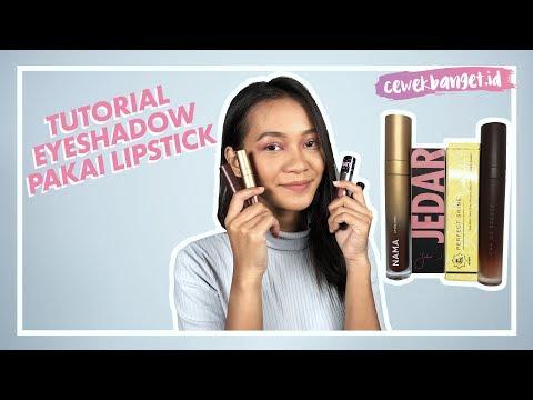 tutorial-eyeshadow-pakai-lipstik- -tips-dan-trik-makeup-pemula