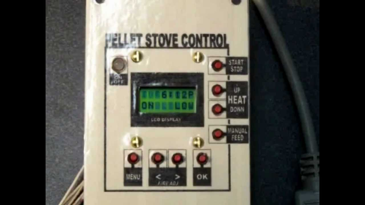 Breckwell Replacement Digital Pellet Stove Controller With 12 Pin