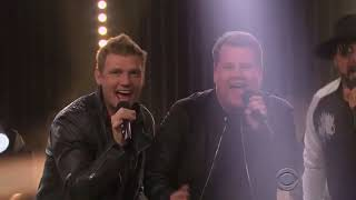 backstreet boys everybody live on the james cordon show 2016