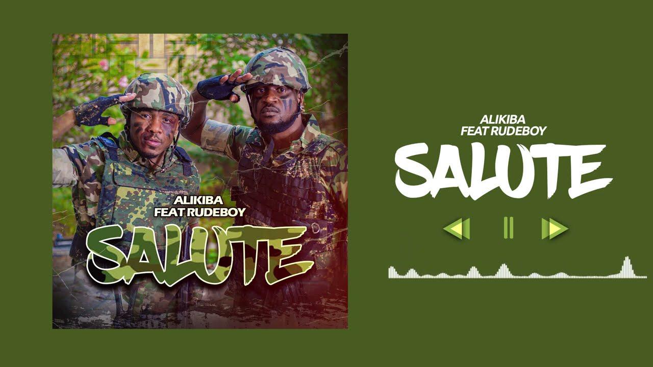 Download Alikiba Ft Rudeboy - Salute (Official Audio)