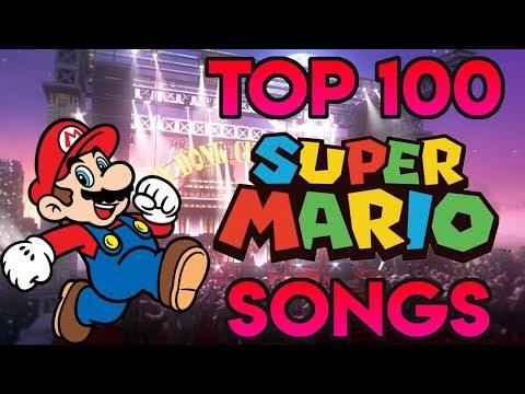 Top 100 Super Mario Songs (2017)