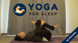 Video 15 Minute Yoga Sequence for Sleep with Alex Howlett download MP3, 3GP, MP4, WEBM, AVI, FLV Maret 2018
