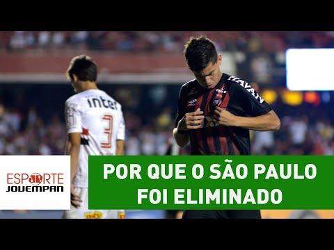 ENTENDA por que o São Paulo foi ELIMINADO pelo Atlético PR!
