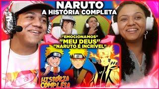 MINHA MÃE REAGINDO A História Completa de Naruto | Hora da História // ConversaToon